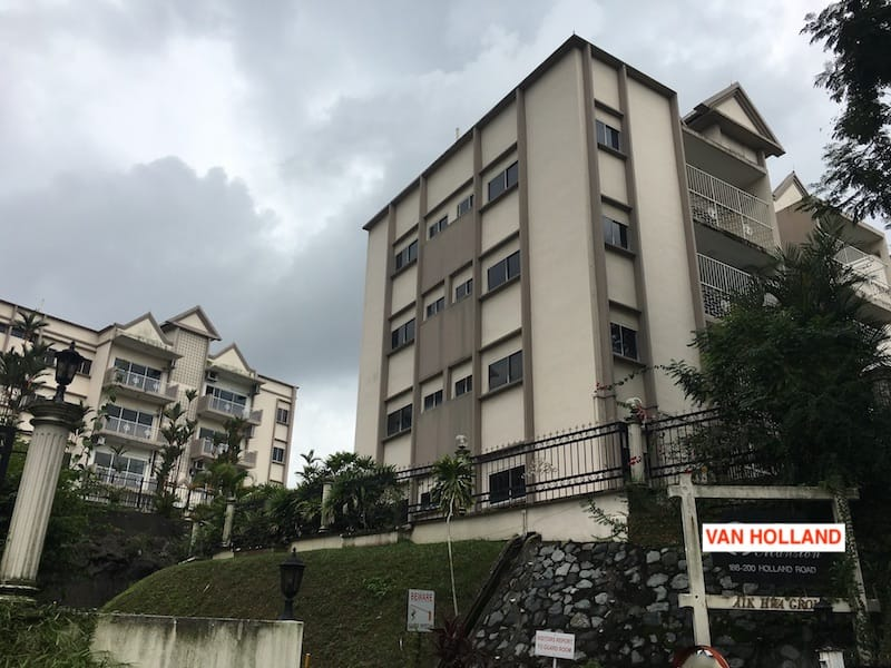 Van Holland Condo Koh Brothers Exact Site at 188 Holland Road Singapore